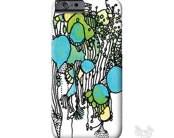 iPhone 7 case, Artsy, Blue, iPhone 6 Case, iPhone 6s case, iphone 7 plus case, iPhone Case Art, iPhone cases, iPhone 5S case, galaxy S7 case