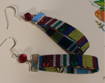 Ethnic Cord Fiesta Earrings