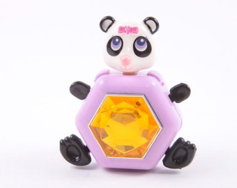 Sweet Secrets, Vintage Figure, Panda Bear, Jewel, Compact Figure, Galoob  ~ The Pink Room ~ SS004