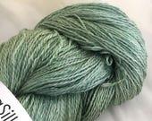 on sale... VERDANT SeaSilk Lace Yarn