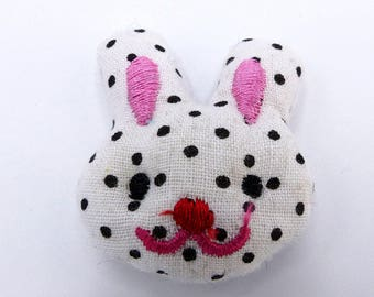 Little Bunny Head Embellishment