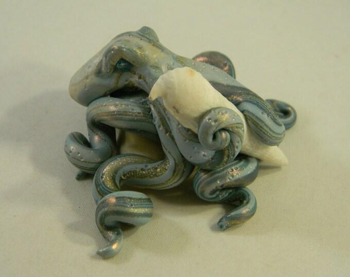 Sally Sells Shells Mini Octopus Sculpture