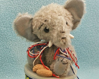 Elrod Elephant Artist Bear Friend Anime Jointed Mohair