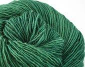 Olana fingering weight cormo alpaca angora blend yarn 300yds/274m 2oz/57g Emerald
