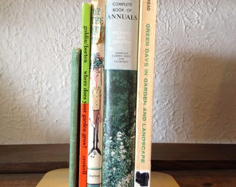Garden Lovers Vintage Book Collection