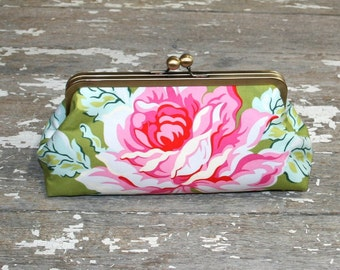 Floral Clutch, bridesmaid clutch, wedding, birthday, bridal party gift, destination wedding