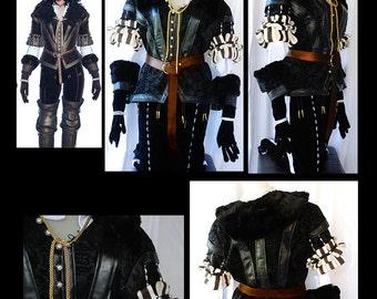 Custom made Witcher Costume: Yennefer