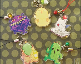 Final Fantasy Mascot Acrylic Charms