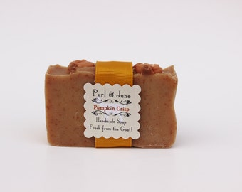 Pumpkin Crisp Goat Milk Soap