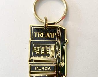 Donald Trump Plaza pendant slot machine gambling political republican   jewelry findings supply  TS13