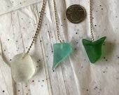 Colorful Fan pulls or lamp pulls, Sea glass inspired ornament 14.00 for one