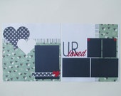 U R Loved Premade or DIY Kit,12x12 Scrapbook Layout, Scrapbook Page Kit