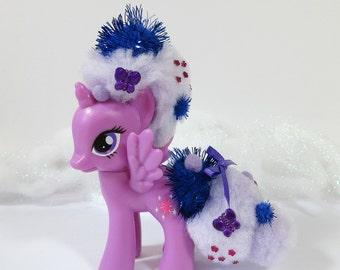 G4 My Little Pony Twilight Sparkle Pom Pom Rehair