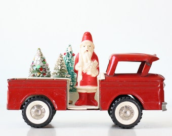 Vintage Red Truck, Toy Structo Pickup Truck