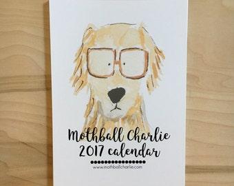 2017 Watercolor Wall Calendar - 5 x 7