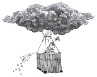 Cloud Preying PRINT