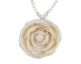 Peony Necklace - Peony Jewelry Collection