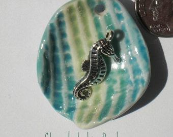 Porcelain Shell Pendant
