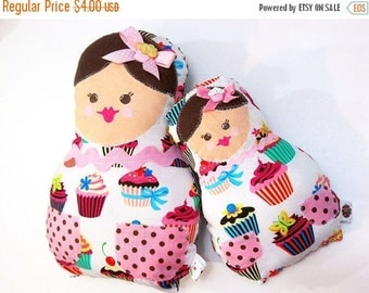 Doll Pattern - Matroyshka Baby Doll Plushie - Baby and Mama
