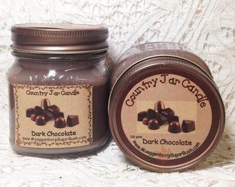 Jar Candle - Half Pint - Dark Chocolate