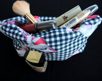 SALE Starlet medium makeup bag - toiletries pouch/ pencil case/ hairdressing store washable waterproof- ready to ship