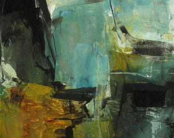 Abstract Expressionism Giclee Print From Oil Painting  Colette Davis