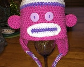 Special Order Sock Monkey Hat for Christie Dolce
