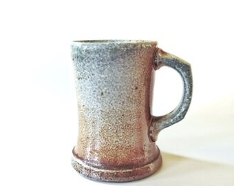 Wood Fired Mug, wheel thrown stoneware