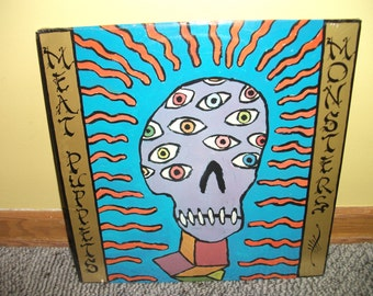 Meat Puppets Monsters Vinyl Record Album MINT Sealed 1989