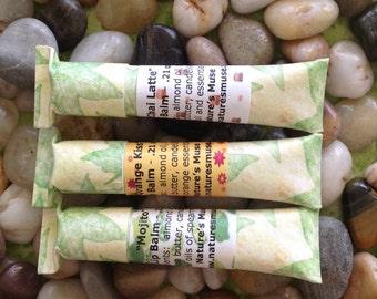 Eco Tube Lip Balm, Vegan Friendly, you choose the flavor, biodegradable eco tube