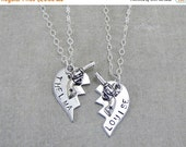 SALE Thelma And Louise Necklace Set