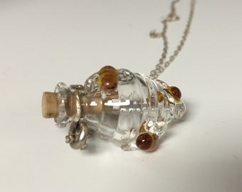 Bee Hive Necklace