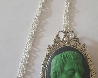 Frankenstein, Frankenstein necklace, Frankenstein jewelry, Horror, Horror jewelry, Gifts for her, Halloween, MsFormaldehyde