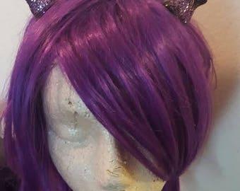 Horns, Small horns, Mini horns, Devil horns, Horn headband, Handmade, Pick your color, MsFormaldehyde, Horror, Halloween