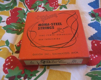gibson mona-steel strings
