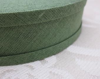 9m Olive Green Cotton Bias Binding