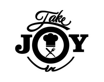 Take Joy In Chef Decal