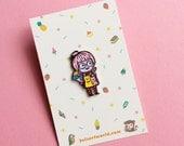 Cat Lady  - Soft Enamel Pin
