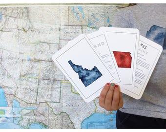 50 States Flashcards