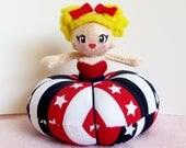 Pincushion Doll Dress Plush: Liberty