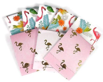 Set of 20 Matchbook Notepads   Match Books Mini Note Pads in Flamingo
