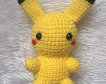 Pikachu Pokemon Crochet Toy