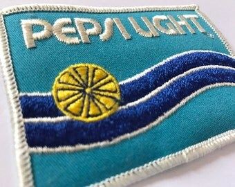 Vintage Pepsi Light Iton On Patch