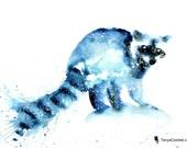 Raccoon Spirit Animal Art...