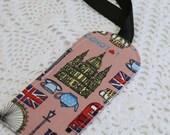 I Love London - Single Luggage Tag
