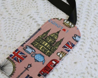 I Love London - Single Luggage Tag