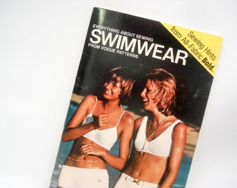 1972 guide to sewing swimwear