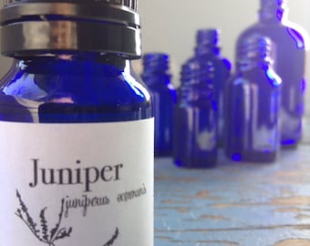 Juniper Berry Essential Oil - Rich and Balsamic Distilled from Berries - Essential Oils