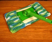 Swiffer Mop Cover, Reusable,  100% Cotton,Crocheted, Housewares, Cleaning,Eco Friendly,London Ontario Canada