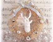 Deer Head Ornament Wreath